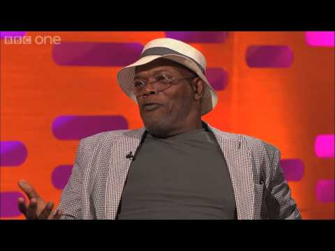 Samuel L  Jackson's Purple Light Sabre   The Graham Norton Show  Series 13 Episode 13   BBC One