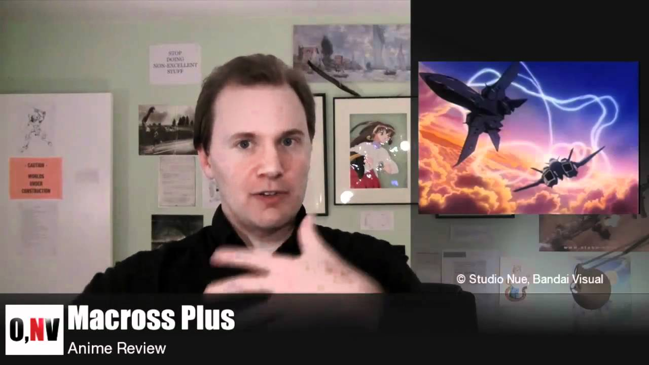 Macross Plus Review Macross Plus Anime Review