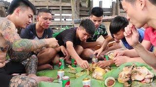 Hữu Bộ   Gà Nướng Đất Sét Ăn Ngay Tại Đồng