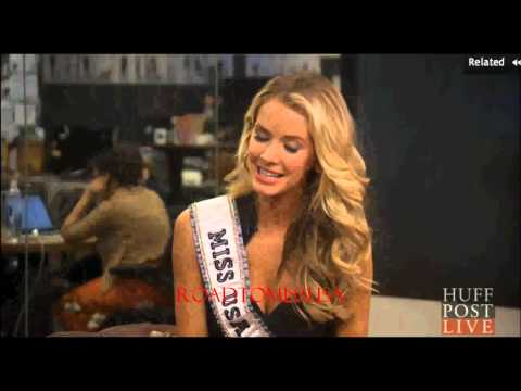 Olivia Jordan, Miss USA 2015 at The Huffington Post