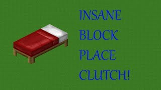 THE MOST INSANE BLOCK CLUTCH EVER!