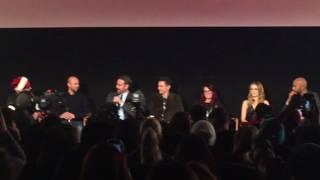 """""""Why Him?"""" Q&A Arrivals: Bryan Cranston, James Franco, Zoey Deutch, Megan Mullally And Keegan-Micha"""