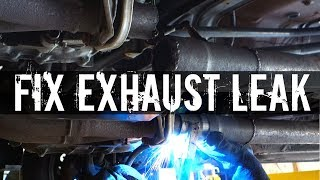 How To Fix A Leaky Exhaust