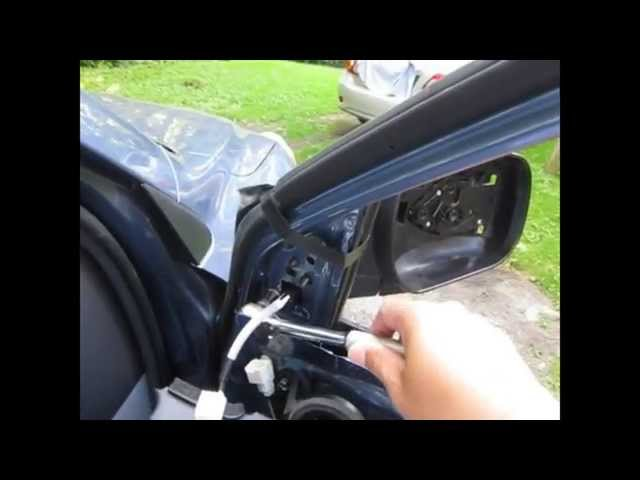 Replace Side Mirror Assembly for Toyota Rav4 2012 - YouTube