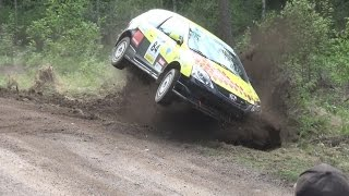 Uusikaupunki Ralli 2016 (crash & action)