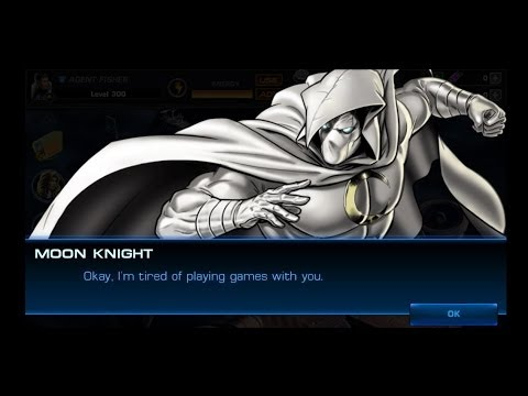 Marvel Avengers Alliance: Moon Knight Unlocked and Recruited (Including Gameplay)