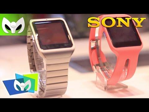 SONY SmartWatch 3 Stealth Sony #CES2015