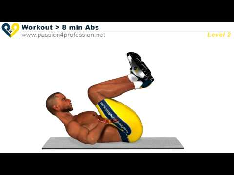 8 Min Abs Workout   Level 2