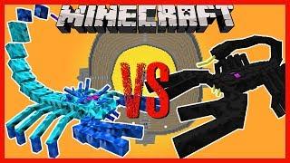 Minecraft - ARCTIC SCORPION VS EMPEROR SCORPION, T-REX, ENDER KNIGHT AND MORE!!