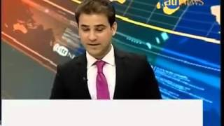 Ariana Tv station Kabul duriing earthquake