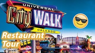 Restaurant Tour of Universal CityWalk Orlando | Universal Studios Dining Plan Options