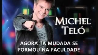 Michel Teló Humilde Residencia Com Letra Hd Ótima Qualidade