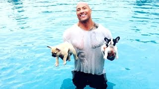 Dwayne Johnson Shares Heartbreaking Photo After His Puppy Dies
