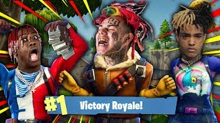 FAMOUS PEOPLE PLAYING FORTNITE!! ►Rappers, Actors, Athletes