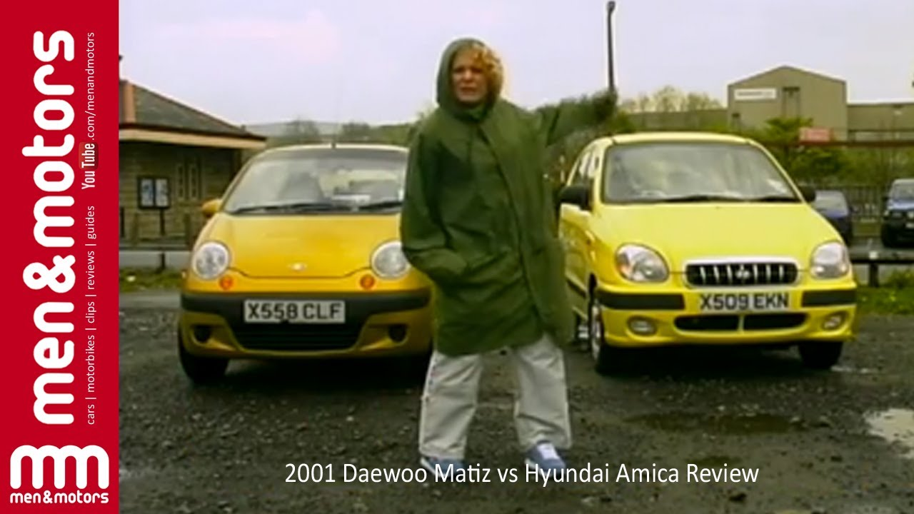 2001 Daewoo Matiz Vs Hyundai Amica Review Youtube