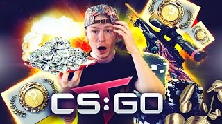 $2000 CS:GO WINNING - KNIFE UNBOXING & AWP TRADE UPS!