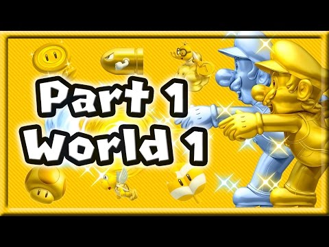 New Super Mario Bros 2 Walkthrough Part 1 - World 1