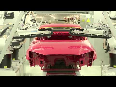 Audi A3 Sedan Production Line
