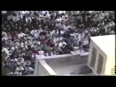 Clashes between students and regime forces on 9th July 1999 in Tehran - Iran