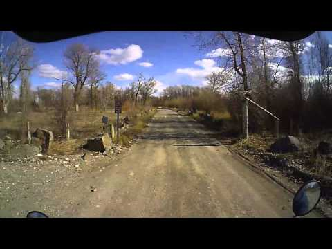 iVUE 720P Camera Glasses HD - Motorbiking by the River (Sample Video)