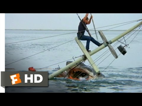 Brody Kills the Beast - Jaws (1010) Movie CLIP (1975) HD