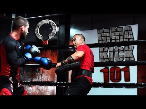 How to Throw a Muay Thai Low Kick with Jhanex Alviz Image 1