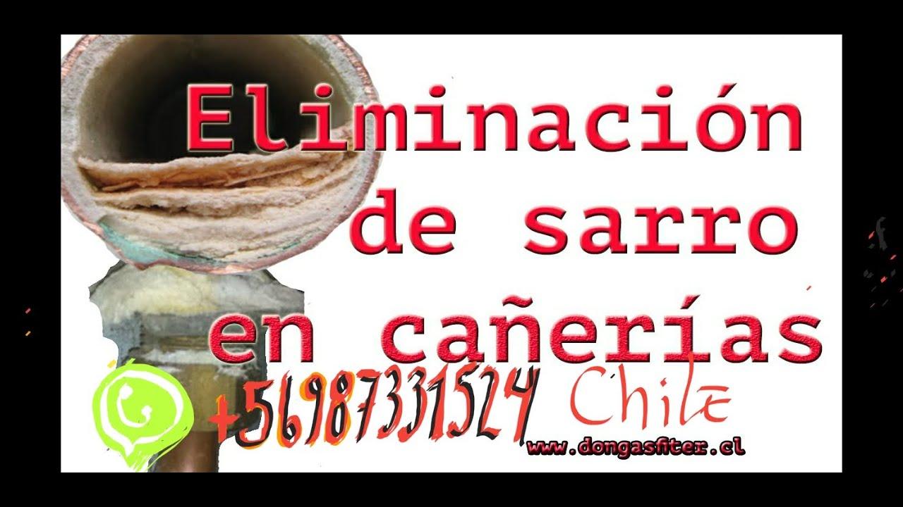 Eliminacion De Sarro De Las Ca U00f1erias    Aumento De Agua