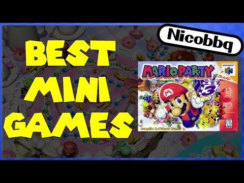 Mario Party - Top 10 Mario Party Minigames!