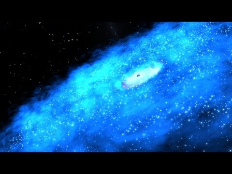 NASA's Fermi Links Ghost Particle to Galaxy