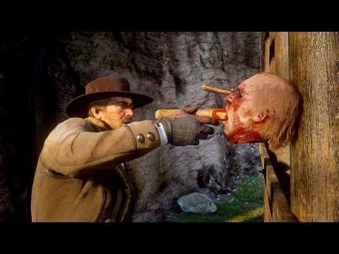 Red Dead Redemption 2 - Как найти серийного убийцу?