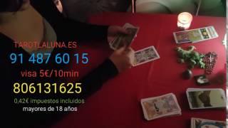 TAROT VISA ECONÓMICA 5€ / 10 MIN 91 487 60 15 -806 131 625 tarotlaluna.es