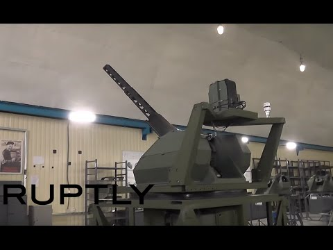 New Russian 'small & swift' remote-controlled mini-turret on test in Crimea