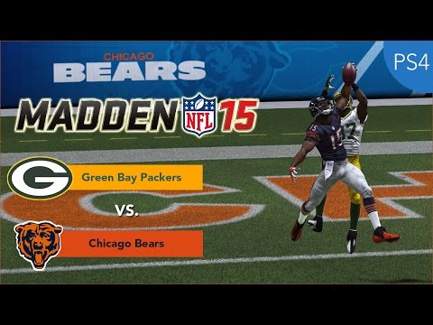 Thumbnail image for ''Madden NFL 15' Gameplay Video: Green Bay Packers vs. Chicago Bears (PlayStation 4)'
