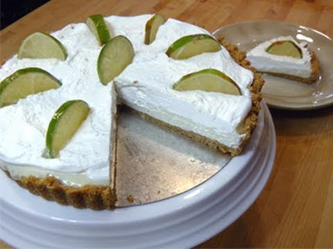 No-Bake Key Lime Pie from Scratch &#8211; Recipe Laura Vitale &#8211; Laura In The Kitchen Episode 58