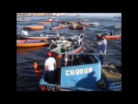 ARCHIVOS: EXTRAÑO COMPORTAMIENTO DEL MAR LA MAÑANA DEL 27F EN IQUIQUE