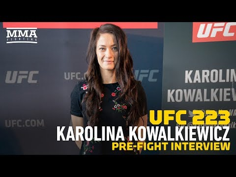 UFC 223: Karolina Kowalkiewicz Feels JJ 'Got What She Deserved' at UFC 217