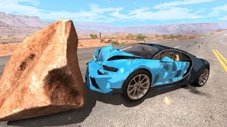 Satisfying Car Crashes Compilation #5 Beamng Drive (Car Shredding Experiment)