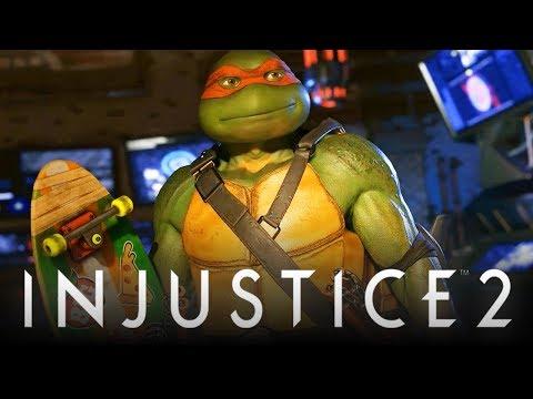 Injustice 2: Teenage Mutant Ninja Turtles Gameplay Reveal Trailer! (Injustice 2: Ninja Turtles DLC)