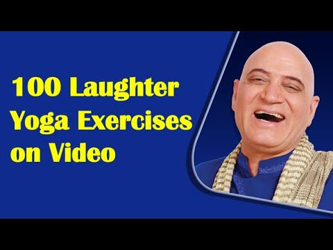 100 Laughter Yoga Exercises Video