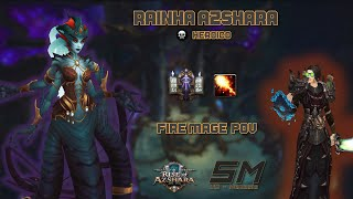 [Heroic] Queen Azshara - Fire Mage POV - World of Warcraft