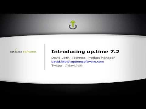 5-min Demo of up.time 7.2