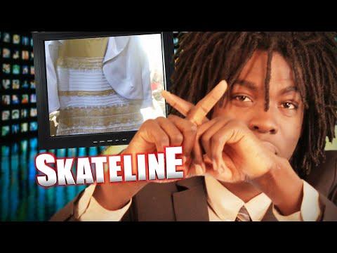 SKATELINE - Shane O'Neill, Jeremy Leabres, Guy Mariano, White & Gold