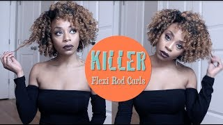 New Year New Look Collab Flexi Rods On Short Natural Hair Mp3