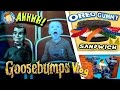 GOOSEBUMPS Movie / World's Largest Gummy Worm OREO Sandwich /...