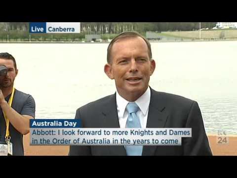 Australia Day: Tony Abbott explains the Prince Phillip knighthood