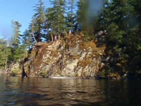 Whistle Lake Cliff Jumping Youtube