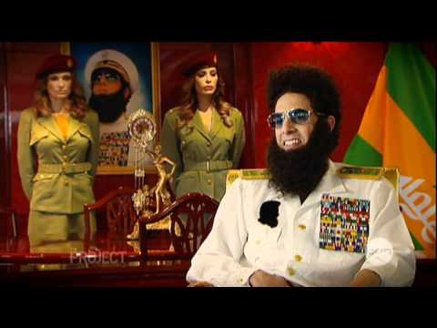 The Dictator Interview On The Project (2012) - Sacha Baron Cohen video