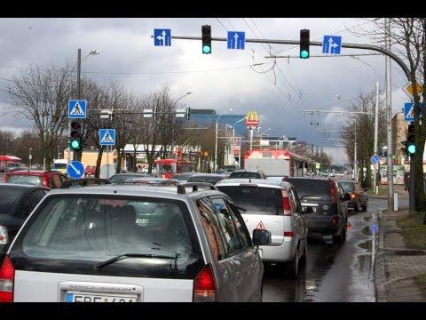 Nauja eismo tvarka atnaujintoje Savanorių prospekto sankryžoje