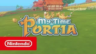 My Time At Portia - Release Date Trailer (Nintendo Switch)