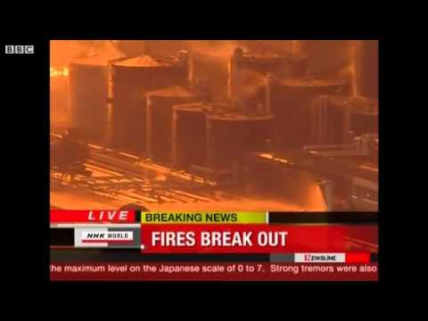 Japan Oil Refinery Fire